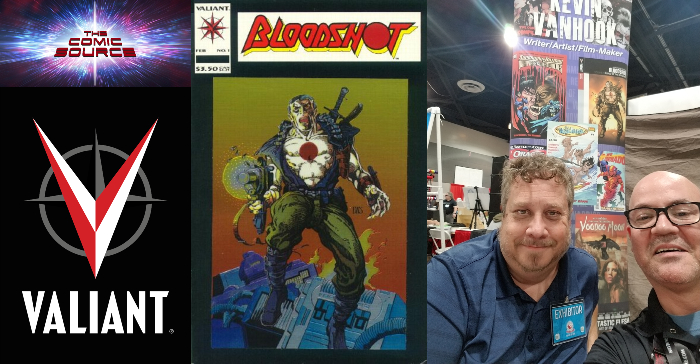 The Comic Source Podcast Episode 323 – Valiant Sunday: A Chat with Kevin Van Hook