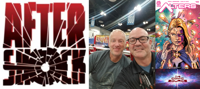 The Comic Source Podcast Episode 324 – AfterShock Monday: A Chat with Paul Jenkins