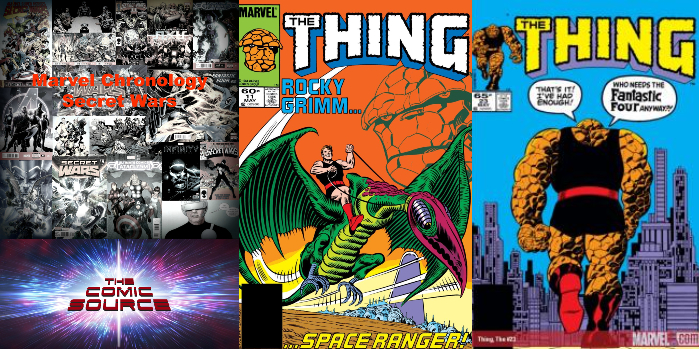 The Comic Source Podcast Episode 330 – Secret Wars Aftermath: The Thing #'s 11-23