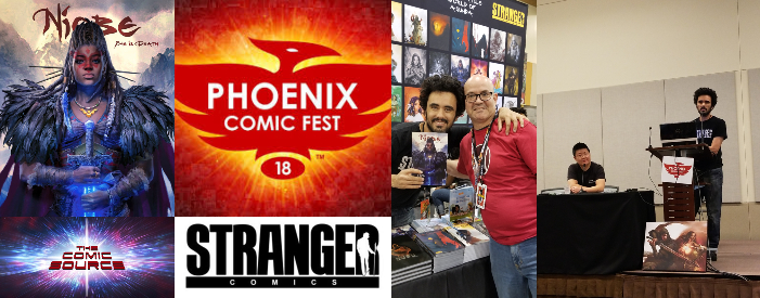 The Comic Source Podcast Episode 340 – Phoenix Files with Stranger Comics