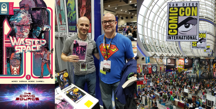 The Comic Source Podcast Episode 427 – San Diego Sound Bytes 2018: Michael Moreci