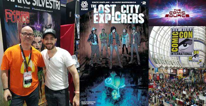 The Comic Source Podcast Episode 436 – AfterShock Monday: Lost City Explorers #2 and A Chat with Zack Kaplan