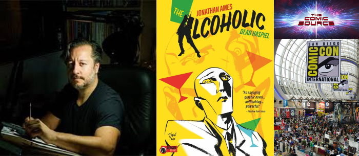 The Comic Source Podcast Episode 437 – San Diego Sound Bytes 2018: The Alcoholic with Dean Haspiel