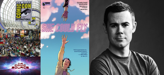 The Comic Source Podcast Episode 438 – San Diego Sound Bytes 2018: She Could Fly with Chris Cantwell