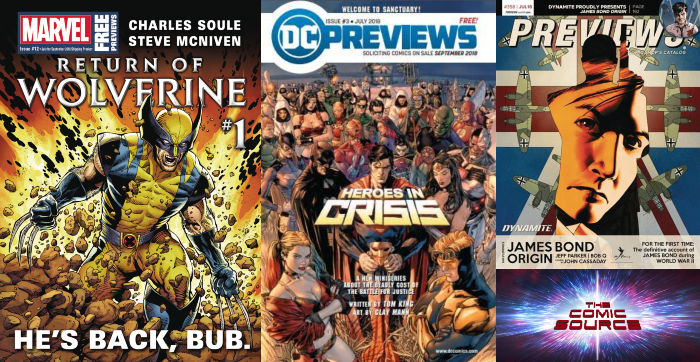 The Comic Source Podcast Episode 443 – Future Picks: September 2018