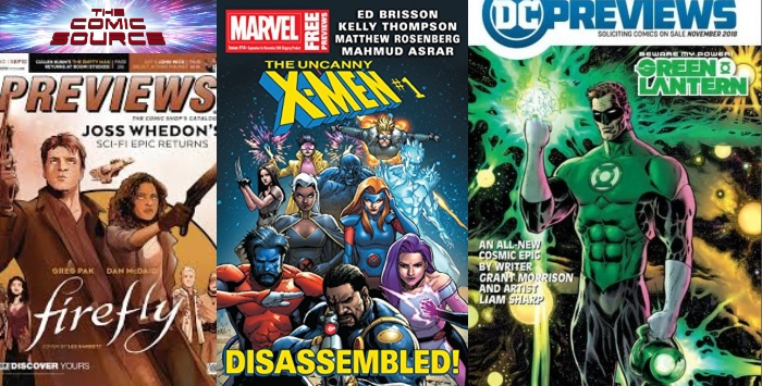 The Comic Source Podcast Episode 491 – Future Picks: Previews 360