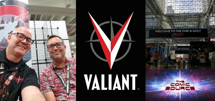 The Comic Source Podcast Episode 558 – Valiant Sunday: A Chat with Fred Van Lente NYCC 2018
