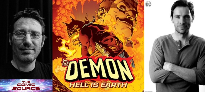 The Comic Source Podcast Episode 573 – Spotlight on The Demon: Hell is Earth