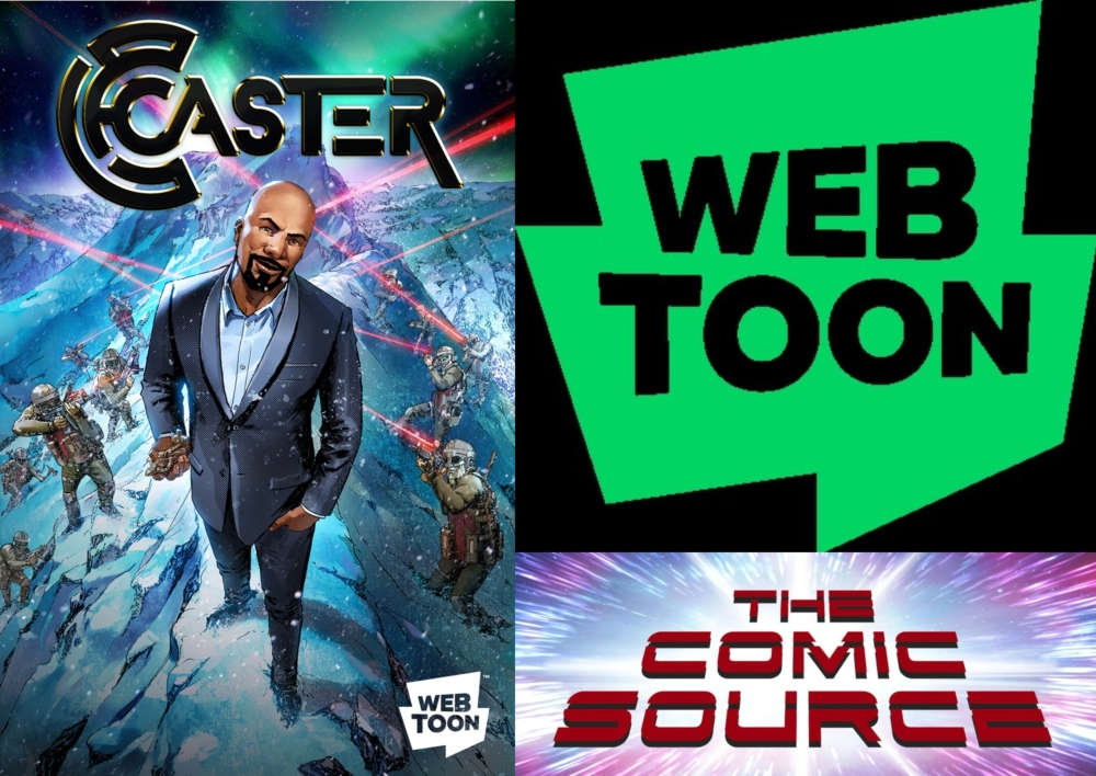 Webtoon Wednesday - Caster with Austin Harrison: The Comic Source