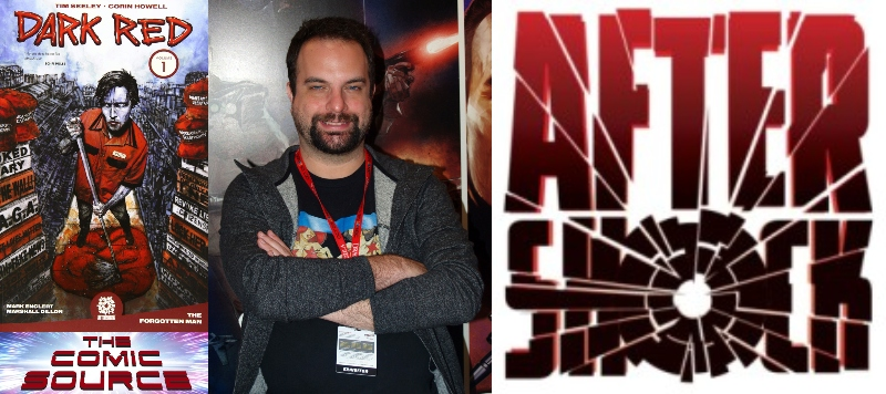 Dark Red Spotlight with Tim Seeley | AfterShock Monday: The Comic Source Podcast